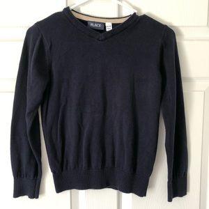 Children's Place Uniform V-Neck Sweater